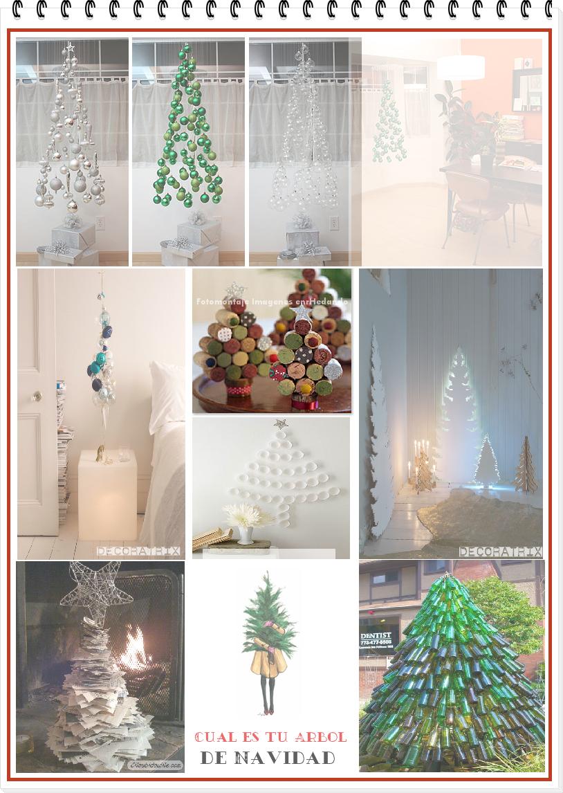 árboles, Navidad, manualidades, diys, christmas tree