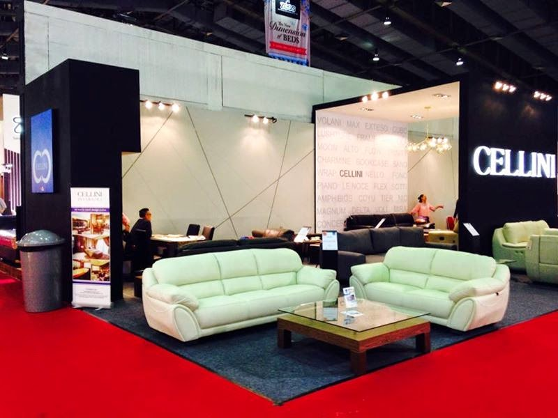 Pameran Furniture Expo Cellini expo