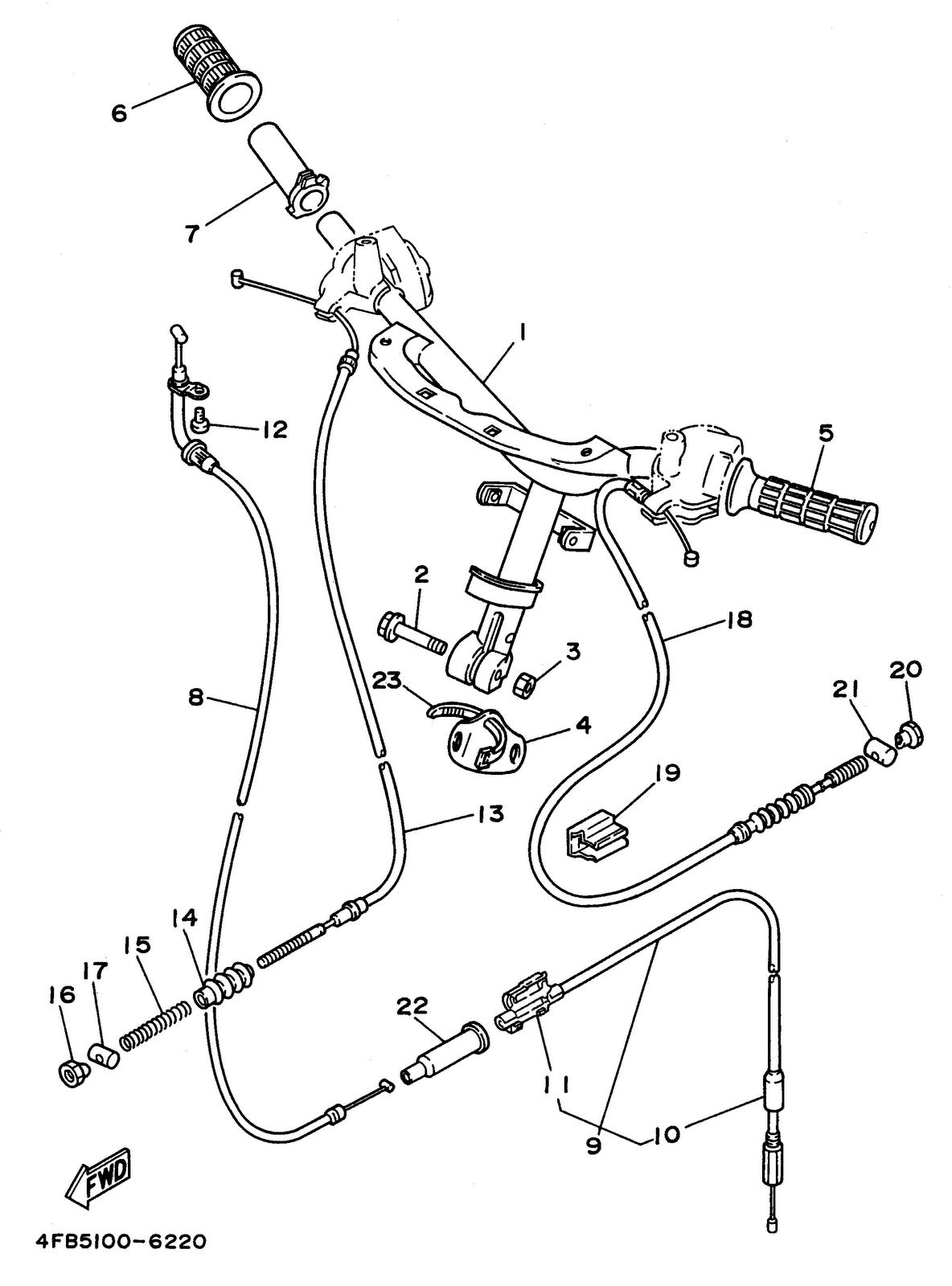 Yamaha cy50h scooter user repair manual