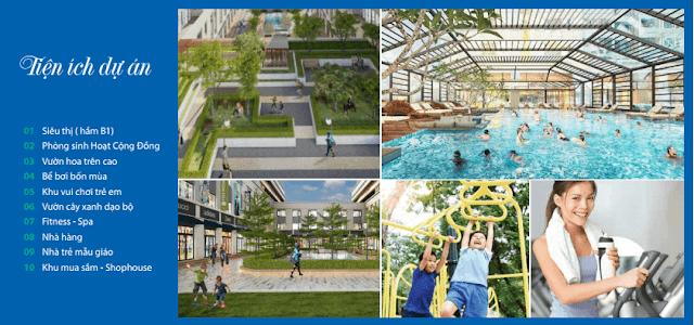 Hệ thống tiện ích dự án chung cư Eurowindow River Park