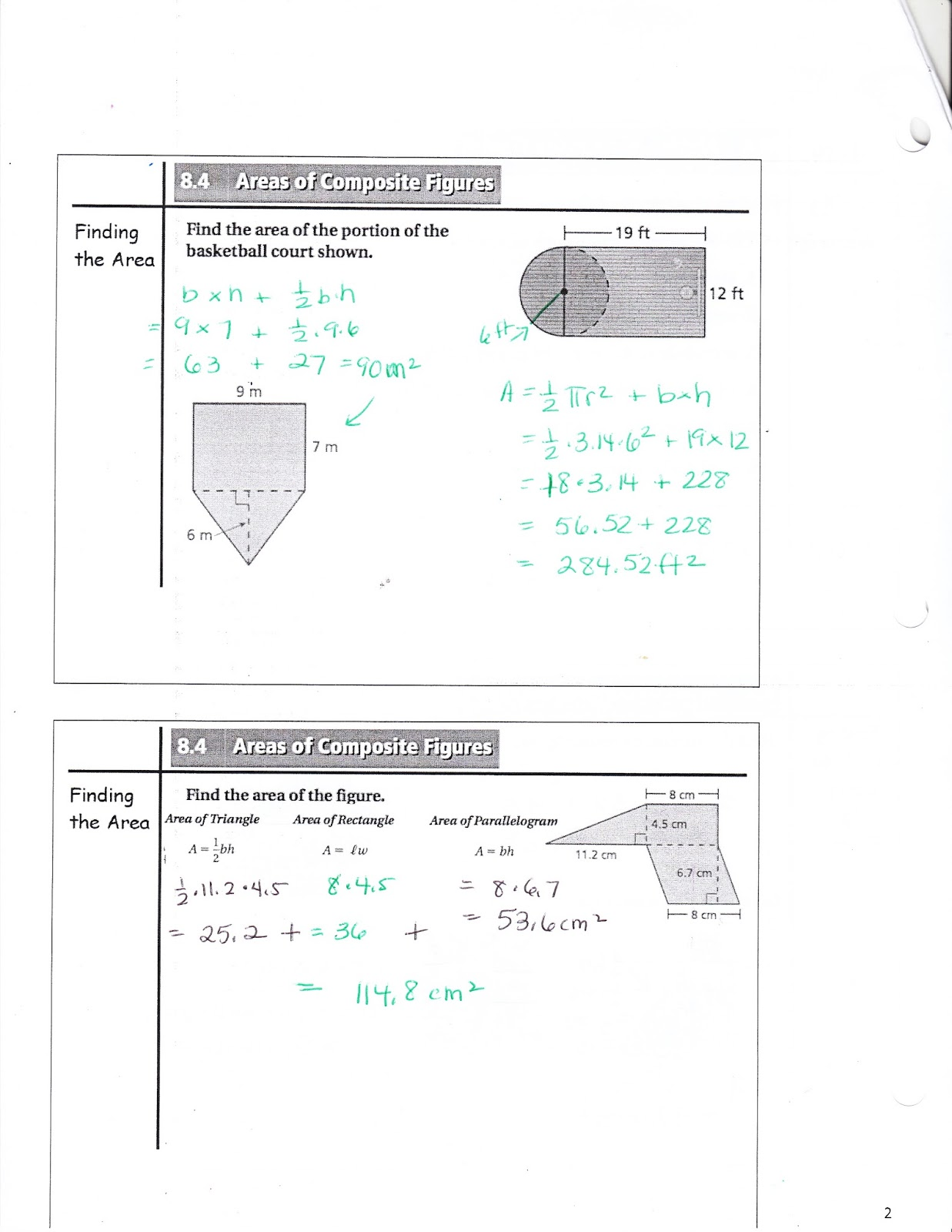 Ms Jean S Classroom Blog Math 7 8 4 Areas Of Composite