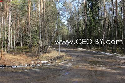 Дорога на задворки аэропорта Минск-2