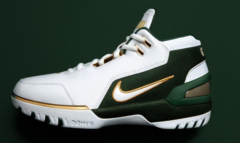 THE SNEAKER ADDICT  Lebron James Nike Zoom Generation 1 SVSM Retro 7ca36869e9d0