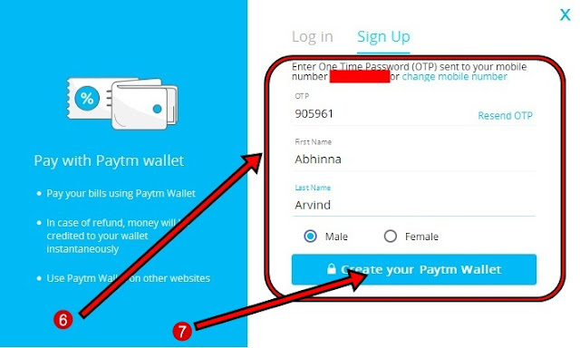 How to create Paytm Account