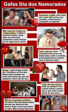 Dia dos Namorados: Receitas e Dicas