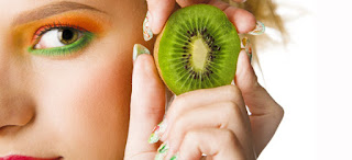 Health: Mask anti aging with kiwi