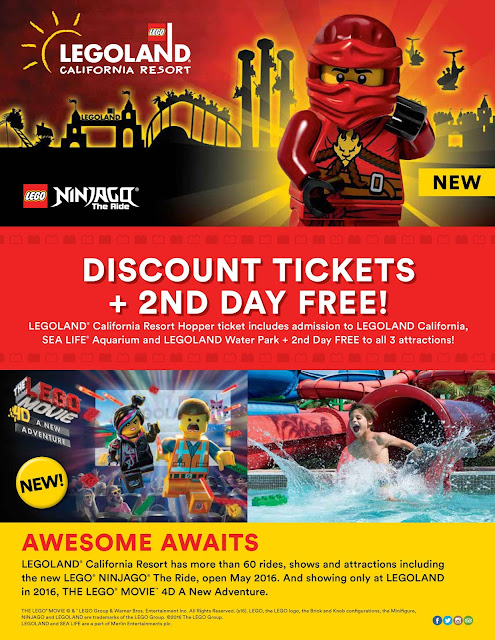 LEGOLAND Tickets!