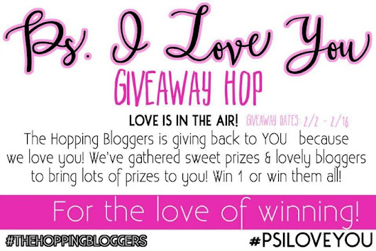 P.S. I Love You Giveaway Hop #PSILOVEYOU