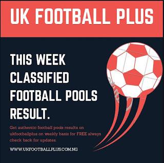 Football Pools result