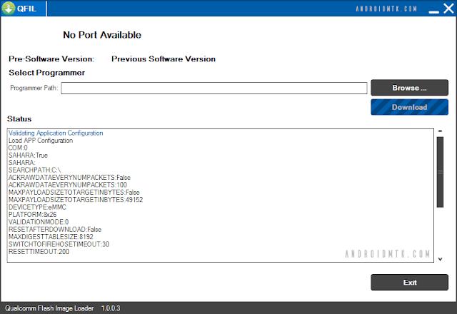 Download Qualcomm Flash Image Loader QFIL Untuk Xiaomi Terbaru