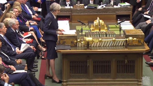 Theresa May, acusada de amenazar a la UE en materia de seguridad