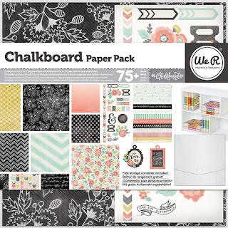 WRMK chalkboard papers
