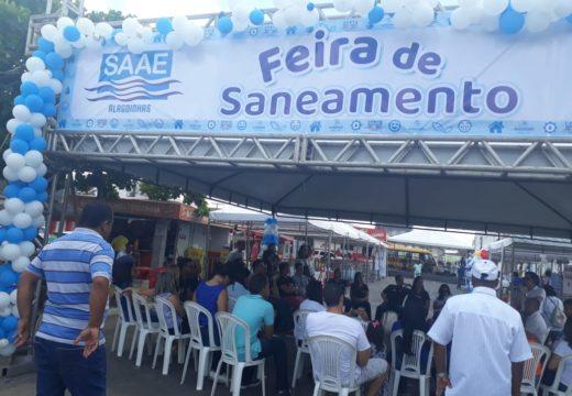 Feira de Saneamento do SAAE leva diversos serviços a moradores de Santa Terezinha