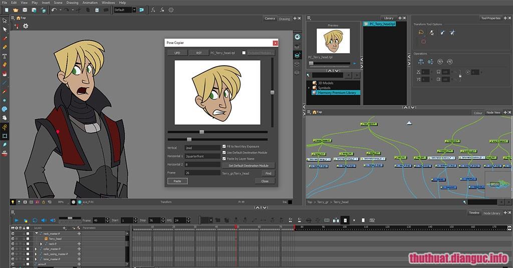 Download Toon Boom Harmony 15.0 Premium Full Cr@ck – Phần mềm làm phim hoạt hình