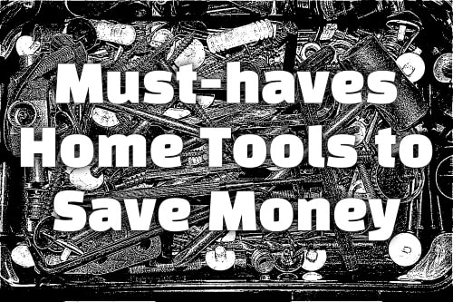 Must-haves at home to help you in saving money