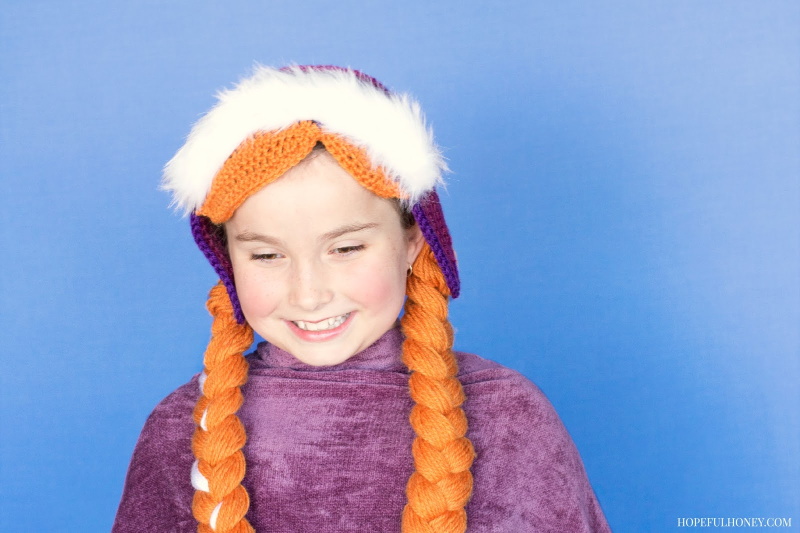 Crochet Pattern Anna Hat : Hopeful Honey Craft, Crochet, Create: Frozen Princess ...