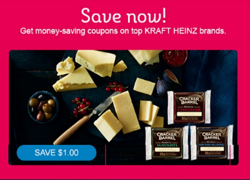 Cracker Barrel Special Reserve Cheese Coupon