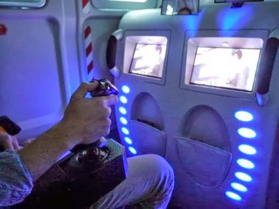 Star Fighter Gaming Entertaiment Bus