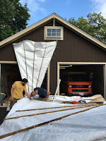 Gusdave and the Whiteheads Tyvek Glider Build Session