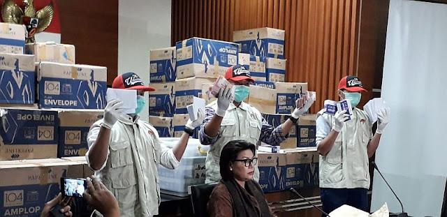 KPK Menyebutkan Uang Sejumlah 8 Miliar Rupiah Dalam Kardus Tidak Terkait Logistik Pemilu Jokowi - Maruf Amin
