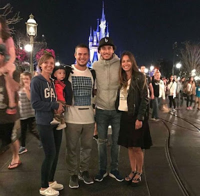 Pampita en Disney