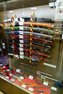 Samurai Swords at Toei Kyoto Studio Park Japan