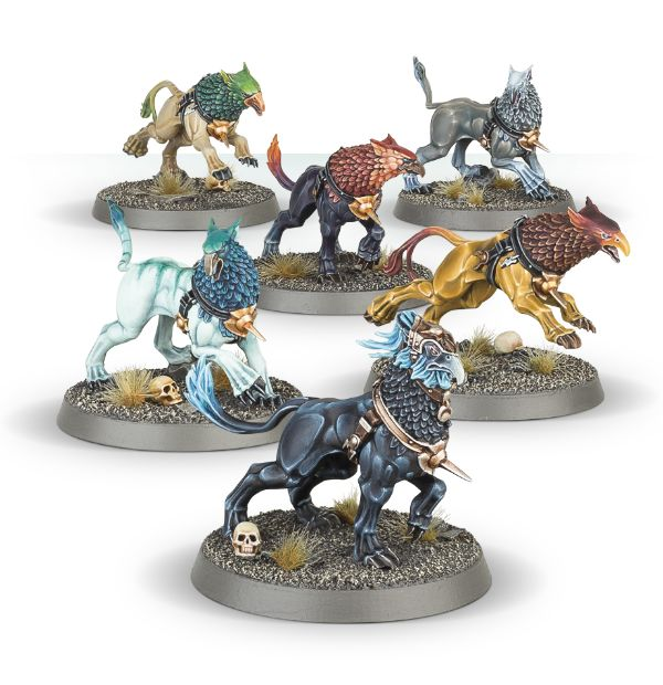 GW Warhammer Age of Sigmar Stormcast Gryph Hounds