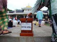 Pedagang Kaki Lima Sumbang Rp 1 Miliar untuk Masjid di Makassar