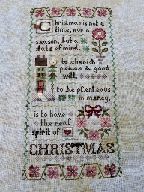 A Christmas Mystery.A Kiwi Stitching Lizzie Kate 2017 Spirit Of Christmas