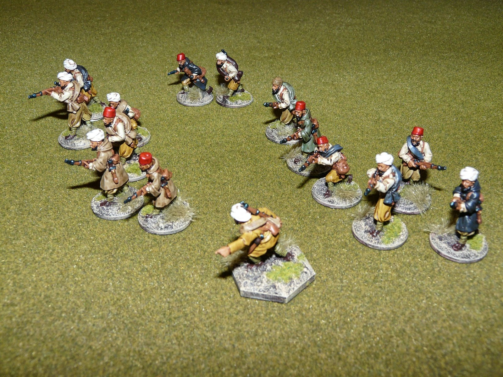 Dust, Tears & Dice: 28mm Moroccan Infantry - SCW Painting guide