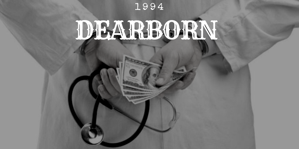 dearborn the beginning of the largest medical holocaust