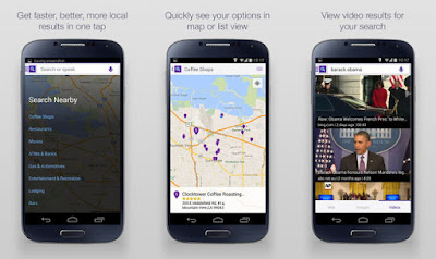 Yahoo Search App For Android Devices