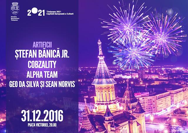 Concert Stefan Banica Jr la Timisoara - 31 decembrie 2016