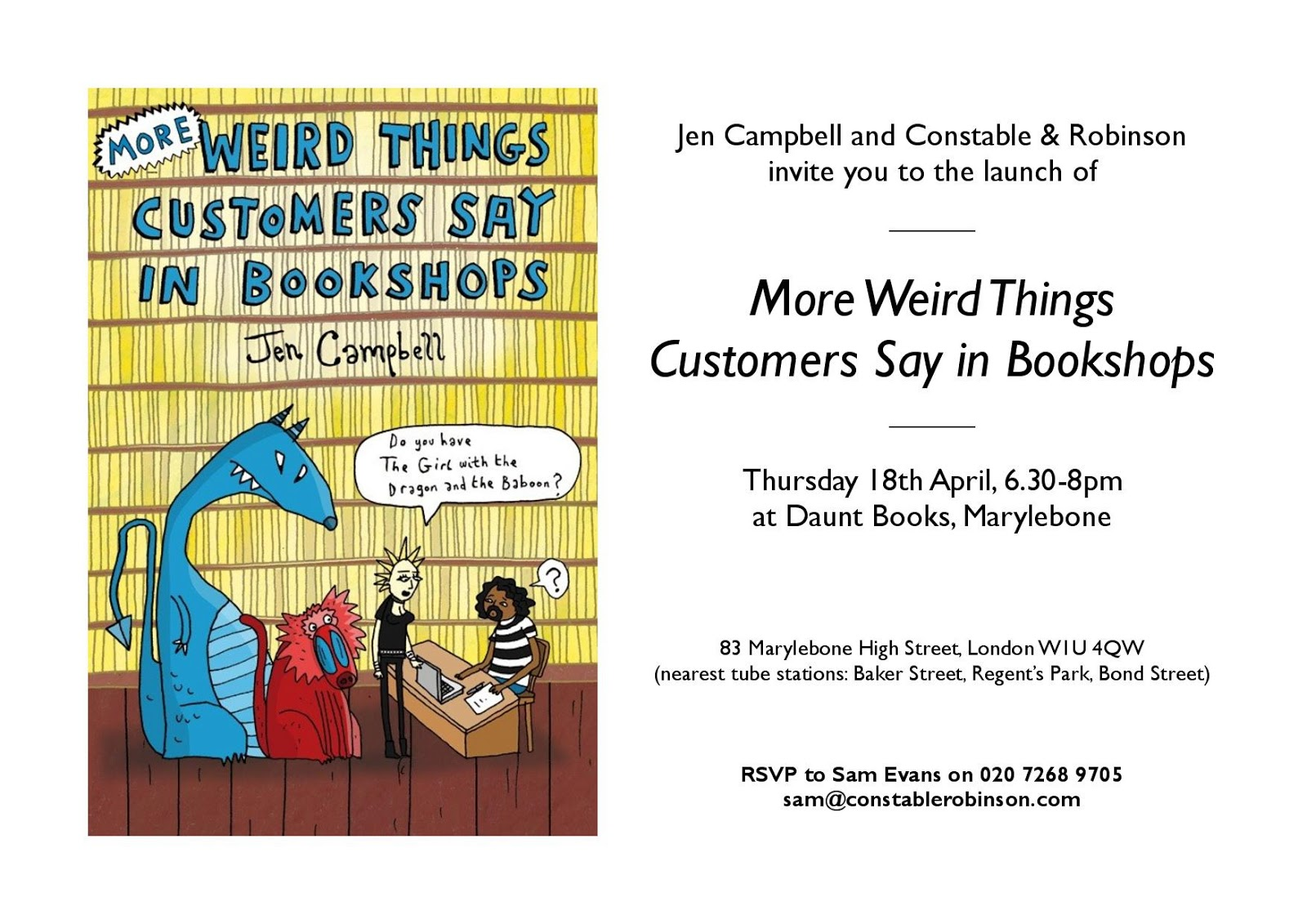 Random Things Through My Letterbox: Book Launch - More ...