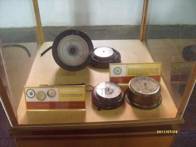 Alat Navigasi Koleksi museum Bahari