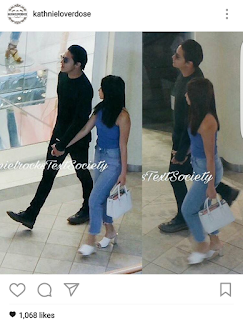 Fashion Pulis Spotted Daniel Padilla And Kathryn Bernardo Shopping