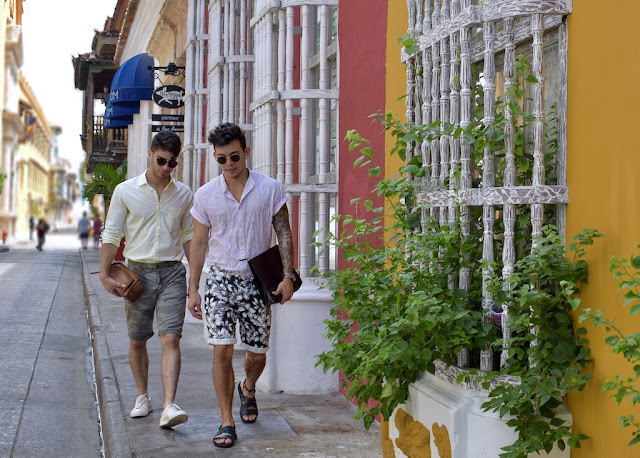 Viaje a Cartagena de los Two Unknown Boys