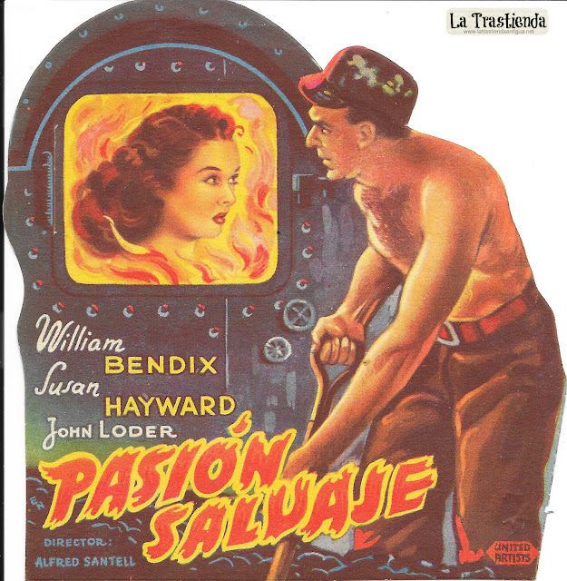 Pasión Salvaje - Programa de Cine - William Bendix - Susan Hayward