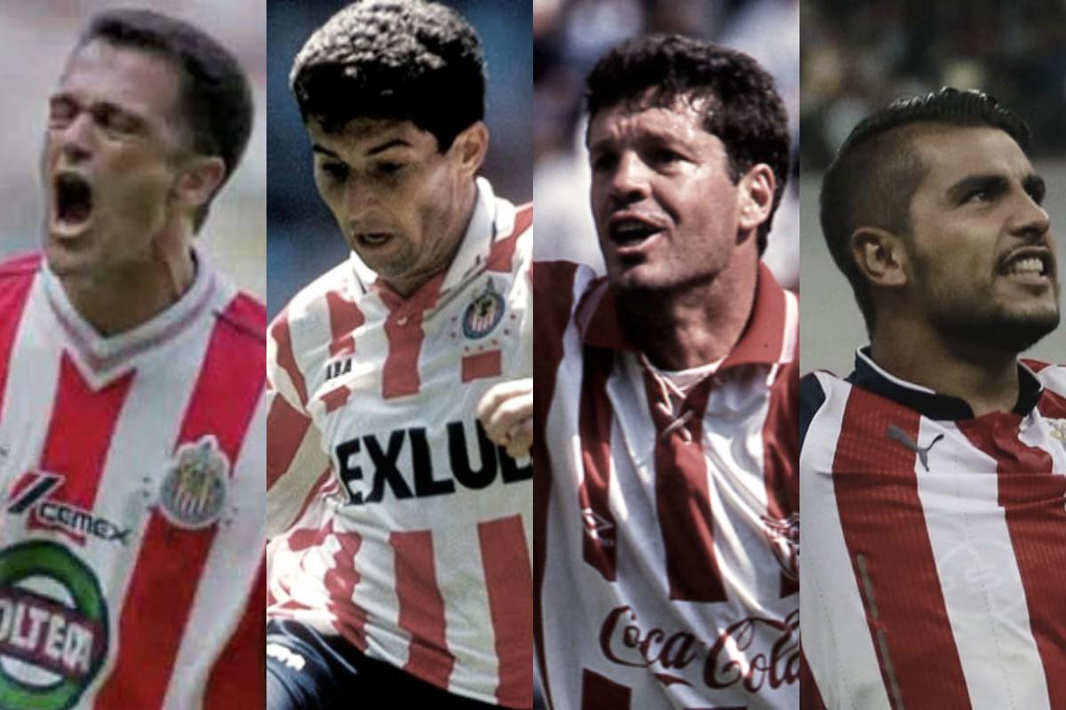 Carlos Hermosillo, José Mauel De la Torre, Ricardo Peláez y Miguel Ponce.
