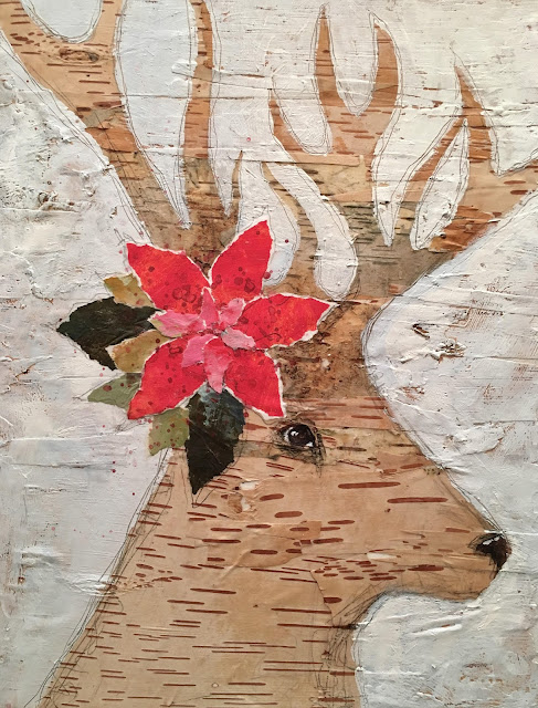 Birch Bark Buck, Roberta Laliberte, OOAK Artisans