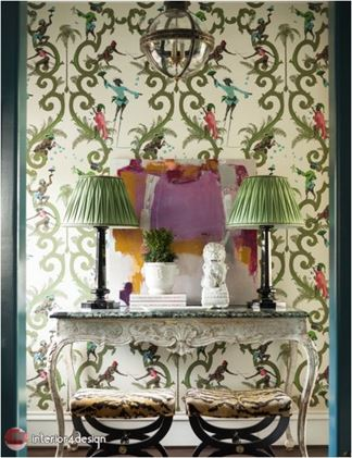 Green Color In Details Of Interior Designs 14
