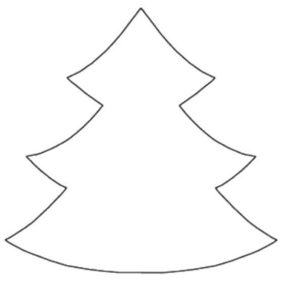 Manualidades con mis hijas: Pino de navidad con huellas de dedos y ...