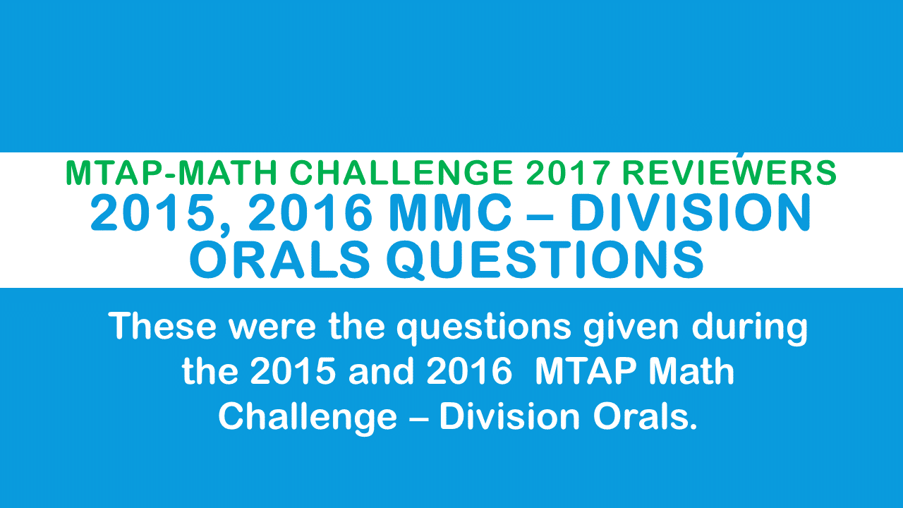 metrobank mtap deped math challenge division orals grade i Nogales files for congress elementary school 2007 metrobank-mtap-deped math challenge division team competition- grade 1 a 15-second questions –.