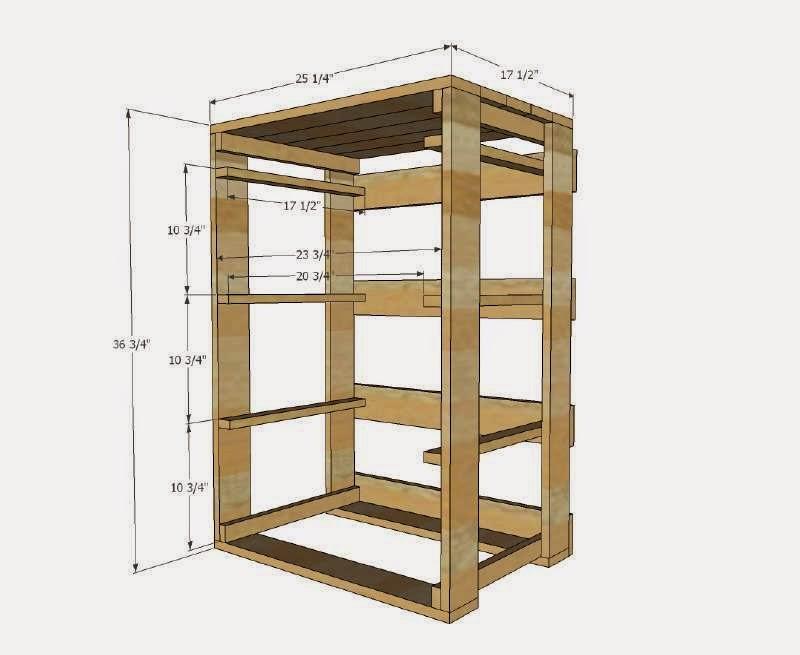 Planos e instrucciones para hacer un for Muebles con palets planos