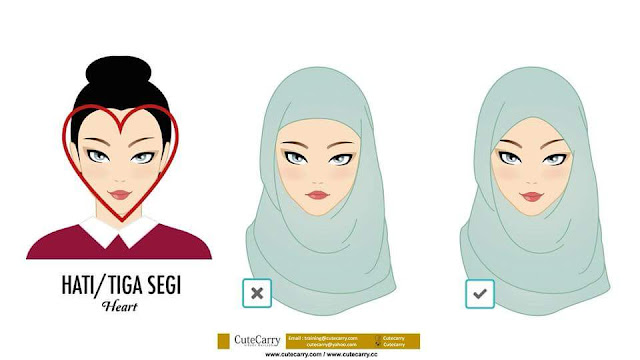Gaya Hijab Yang Sesuai Mengikut Bentuk Muka, hijab, cara pakai shawl mengikut bentuk muka, gaya tudung yang sesuai mengikut bentuk muka, cara pakai tudung yang sesuai mengikut bentuk muka, tips shawl, tips memakai shawl, cara pakai selendang, cara pakai selendang tampak cantik,