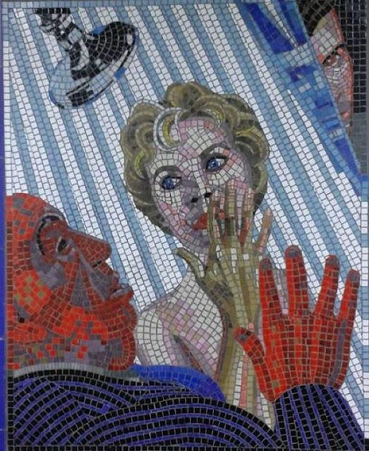 The Hitchcock Gallery, seni mosaik wanita, seni mosaik laki laki, seni mosaik orang kerja, seni mosaik terbaik 2017, seni mosaik terbaru dan terlangka