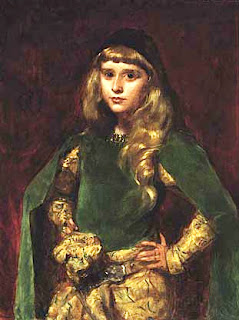 Natalie Clifford Barney à 10 ans, peinte par Carolus Duran