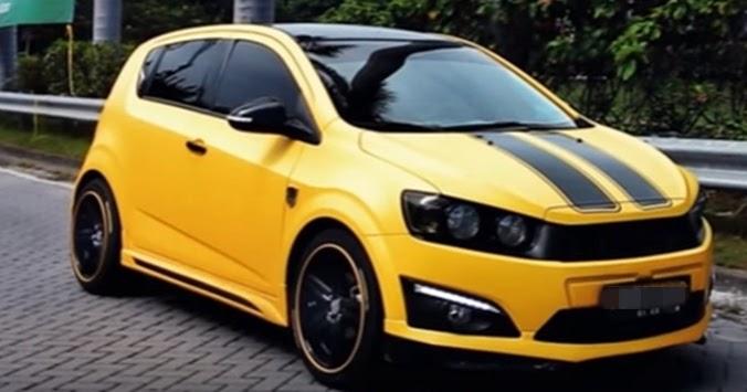 Kumpulan Foto Modifikasi Chevrolet Aveo Terbaru
