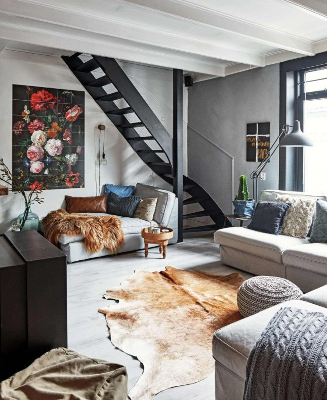 Decordemon A House In The Netherlands With A Mix Of Bohemian And Industrial Style