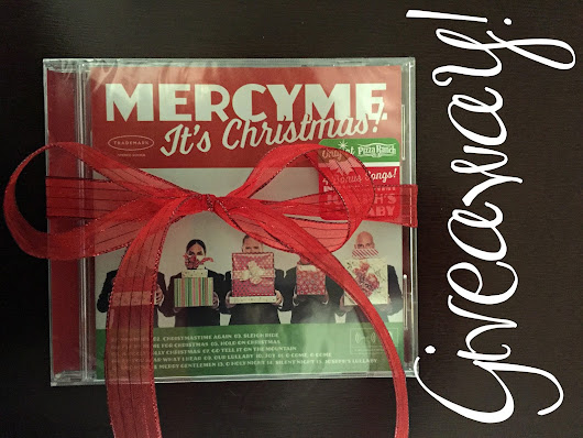 MercyMe It's Christmas Giveaway